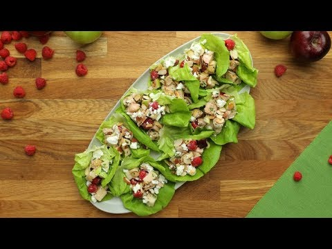 Apple Berry Chicken Salad Wraps // Presented by Marie's Dressing