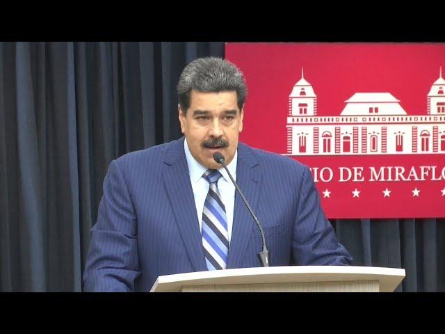 委內瑞拉總統馬杜羅 控美國企圖暗殺