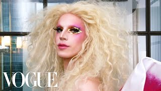 RuPaul's Drag Race Star Aquaria Gets Ready for Pride Week | Beauty Secrets | Vogue