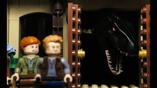 LEGO Jurassic World 2: Fallen Kingdom Part 1 stop motion animation trailer
