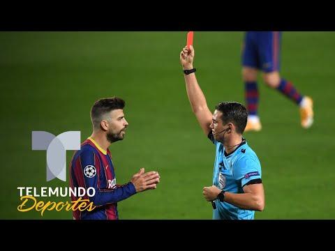 Barcelona y su primera expulsión en Champions ¡en 23 años! | Telemundo Deportes