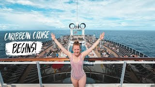 Boarding a BRAND NEW CRUISE SHIP! - MSC Seaside Tour & Review w/ MSC Cruises