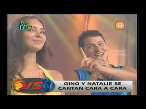 Esto es Guerra: Gino Pesaressi y Natalie se cantaron 'cara a cara' - 28/03/2013