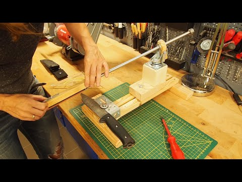 Building A Knife Sharpening Jig (DIY)