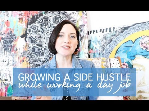 growing a side hustle while working a day job