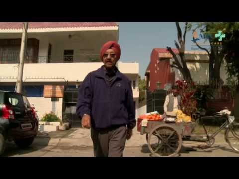 Harcharan Singh's love for golf.