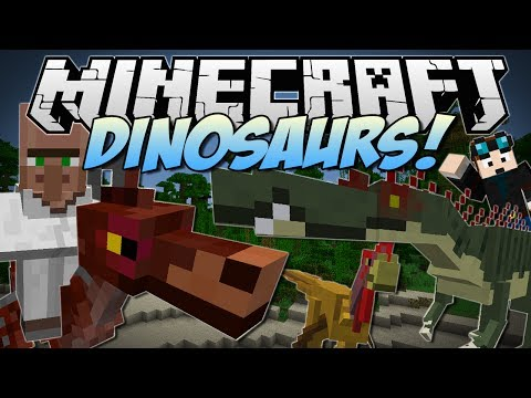 Minecraft   DINOSAURS! (Enter The Jurassic Dimension!)   Mod Showcase - Smashpipe Games