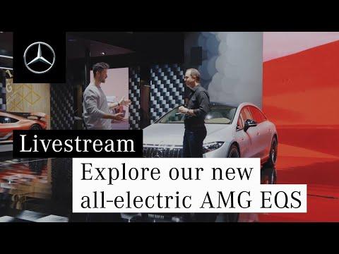 Entdeckt unseren neuen vollelektrischen AMG EQS.