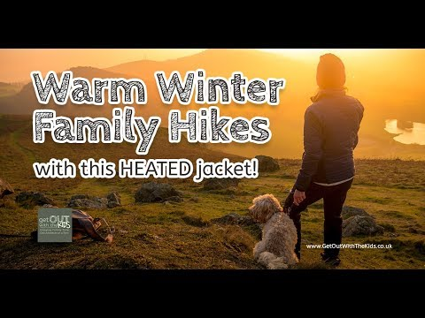 video Don't like taking the kids out when it's cold? Try the 8k Flexwarm heated jacket!