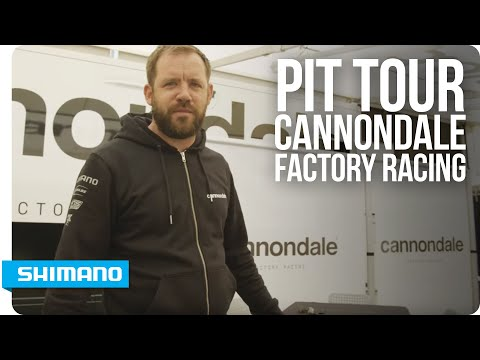 Pit Tour - Cannondale Factory Racing Downhill team with Phil Dixon | SHIMANO