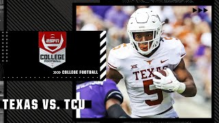 Texas Longhorns at TCU Horned Frogs   Full Game Highlights