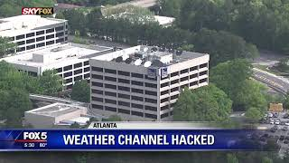 Weather Channel hacked
