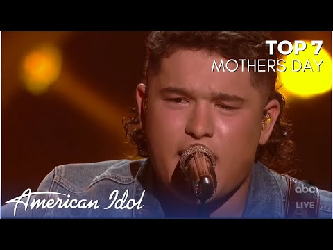 Caleb Kennedy SLAYS With His Original Song For His Mom!