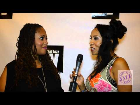 Capital Jazz TV interview with Lalah Hathaway at Capital Jazz Fest ...