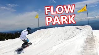 Flow Park Snowboarding at Timberline