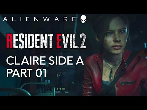 Alienware Plays Resident Evil 2 - Gameplay on Aurora Gaming PC (1080 Ti)