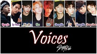 Stray Kids (스트레이 키즈) - Voices [HAN|ROM|ENG Color Coded Lyrics]