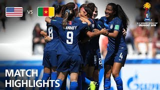 USA v Cameroon  - FIFA U-17 Women's World Cup 2018™ - Group C