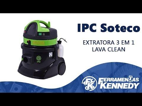 Extratora de Carpet 3 em 1 1250W LavaClean IPC Soteco -127V - Vídeo explicativo