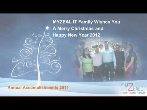 New Year 2012 Greetings from MYZEAL IT Solutions