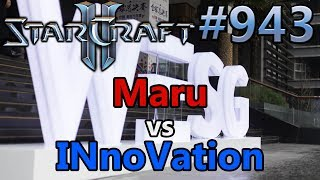 StarCraft 2 - Replay-Cast #943 - Maru (T) vs INnoVation (T) - WESG 2018 - Halbfinale [Deutsch]
