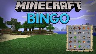 BINGO IN MINECRAFT?  - Minecraft Game Map Survival Bingo Challenge