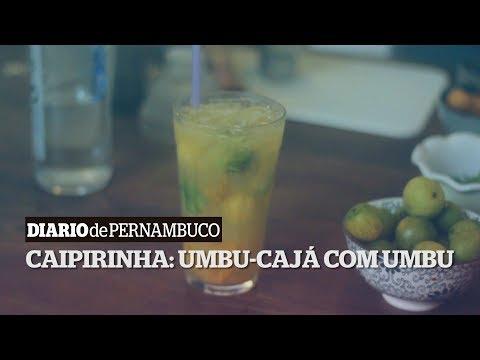 Drink da sexta: Caipirinha de Umbu-Cajá e Umbu