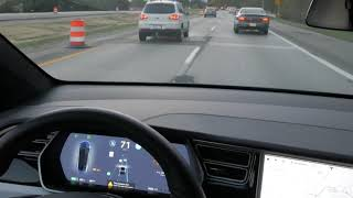 Tesla v9 Autopilot (AP2) - new interface