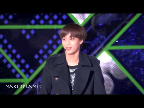 121231 MBC 가요대제전 EXO-K - HISTORY (KAI 카이)
