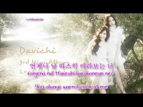 Davichi - Secret (비밀) [Eng+Rom+Han]