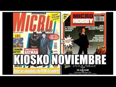 MICROMANIA MICROHOBBY NOVIEMBRE 1989