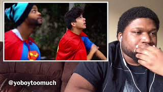 Racist Superman|Rudy Mancuso, King Bach,& LeLe Ponds- Reaction
