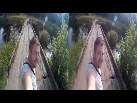 Dangerous Bridge in 3D !Horrible Place !