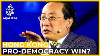 Analysis: What the Hong Kong pro-democracy election win means for China