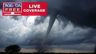 LIVE TORNADO COVERAGE - Threat Includes Chicago, Denver