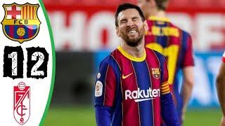 Ваrcеlоnаa VS Grаnаdaа 1 - 2 All Goals & Highlights | LA LIGA 2021