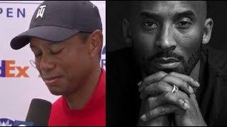 Tiger Woods speaks on the passing of Kobe Bryant