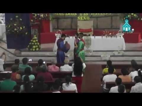 LA ULTIMA CENA (Representación) Parroquia Divino Niño Jesús Granada Abril 2 de 2015