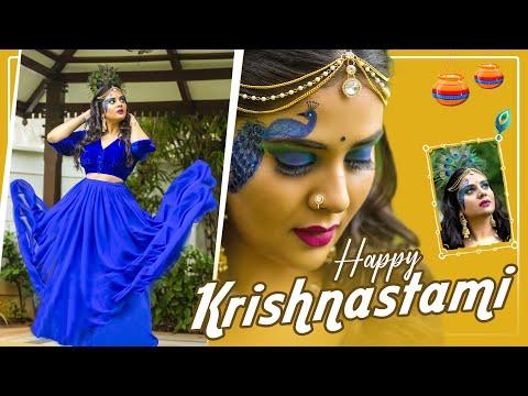Sreemukhi's Krishnastami special looks grabs viewers attention