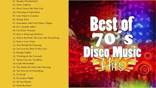 Best Songs of 70's Disco Music | Greatest Hits of Seventies Disco Fashion