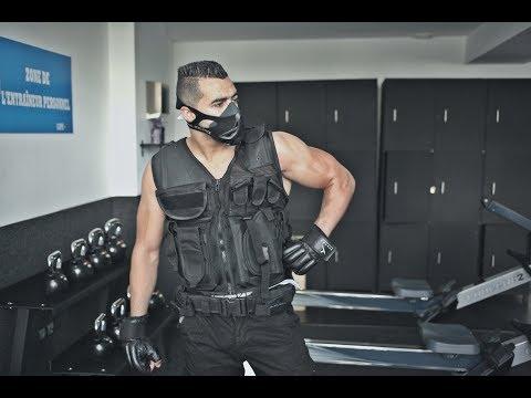 فيديو..الشرطي هشام الملولي يعود إلى التداريب بعد الخروج من السجن