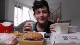ASMR Eating McDonald's 10 Million views *eating sounds*  lovely ASMR s