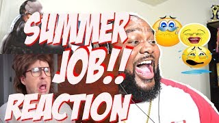 EVERY SUMMER JOB EVER |  Reaction | YouTube Video | Omar S. Murphy