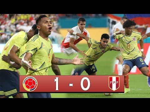COLOMBIA 1 VS 0 PERU