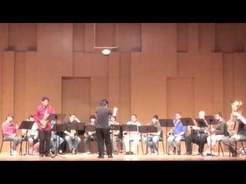 Glazunov Saxophone Concerto-Rehearsal