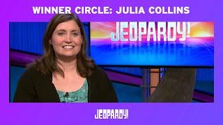 Jeopardy! | Julia Collins Winner Circle