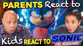 Parents React To Kids React To NEW Sonic Trailer