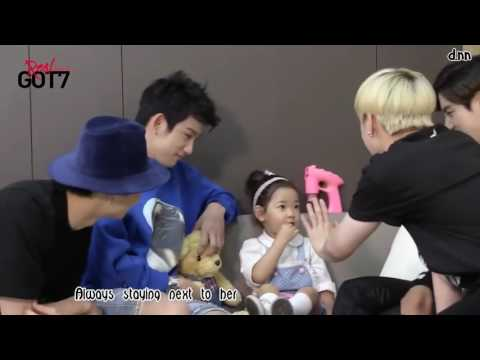 GOT7 Jinyoung With Kids