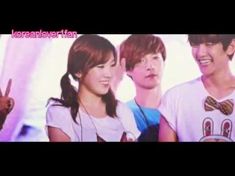 120818 BAEKHYUN&TAEYEON ADORABLE MOMENTS A FANBOY's DREAMS COME TRUE