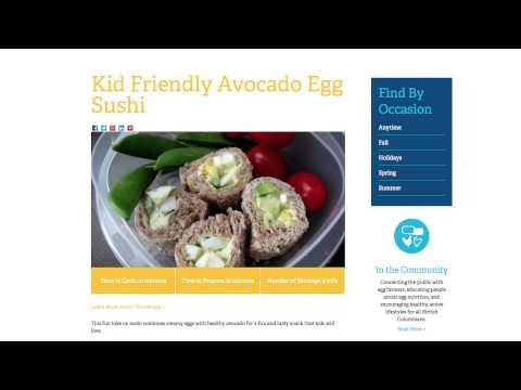 BC Egg Recipes